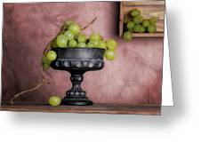 Grapes Centerpiece Greeting Card