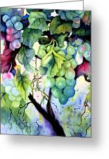 Grapes II Greeting Card