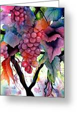 Grapes IIi Greeting Card