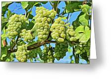 Grapes Not Wrath Greeting Card