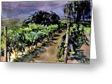 Grapes Of Niagara Greeting Card