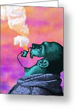 Graphic Vape Greeting Card
