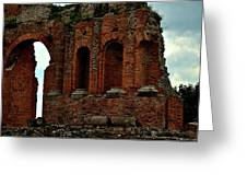 Grand Roman Remains Greeting Card