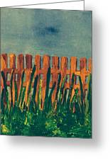 Grass Is Greener On The Other Side  Greeting Card
