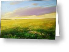 Grassland Greeting Card
