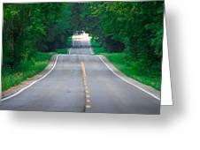 Grassy Lake Road Greeting Card