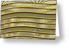 Grate Of Yellow Greeting Card