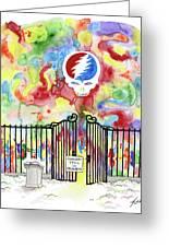 Grateful Dead Concert In Heaven Greeting Card