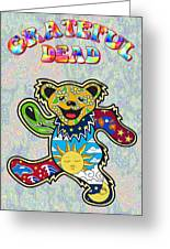 Grateful Dead Greeting Card