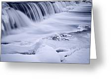 Graue Mills Falls Greeting Card