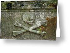 Grave Business 2 Greeting Card
