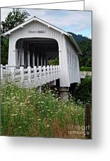 Grave Creek Bridge Greeting Card