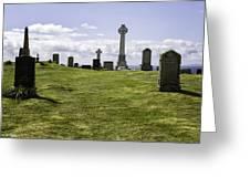 Grave Of Flora Macdonald Greeting Card