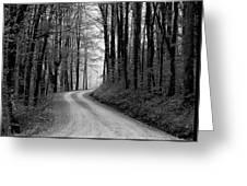 Gravel Lane Greeting Card