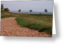 Gravel Path Greeting Card