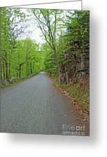 Gravel Paths Greeting Card