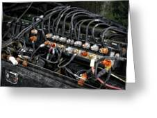 Gravel Pit Paystar 5000 Truck Wiring Greeting Card