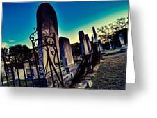 Gravesite Greeting Card