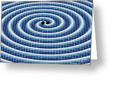 Gravitational Waves Greeting Card