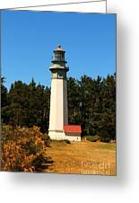 Grays Harbor Light Station Greeting Card
