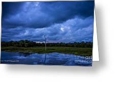 Grean Cay Storm 4 Greeting Card