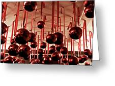 Great Balls Of Macy's Greeting Card