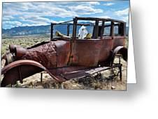 Great Basin Jalopy Greeting Card
