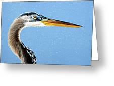 Great Blue Walter Greeting Card