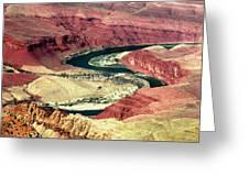 Great Color Colorado River Greeting Card