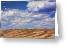 Great Colorado Sand Dunes Mixed View Greeting Card