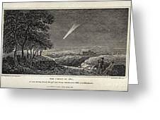 Great Comet Of 1811 Greeting Card