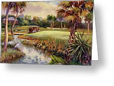 Great Day For Golf Greeting Card