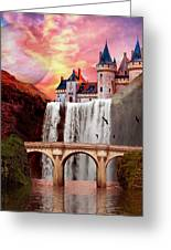 Great Falls Castle Greeting Card