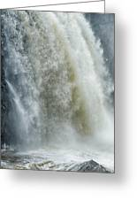 Great Falls Of Paterson Nj Greeting Card