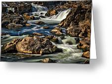 Great Falls Overlook #5 Greeting Card