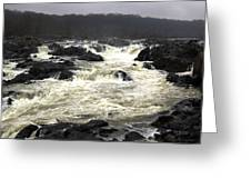 Great Falls Potomac River Maryland Greeting Card