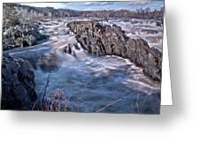 Great Falls Virginia Greeting Card