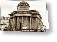 Great George Street Congregational Church Liverpool Greeting Card