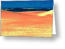 Great Lakes Dunes B Greeting Card