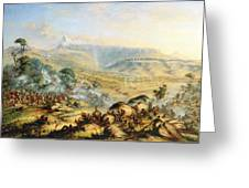 Great Peak Of The Amatola-british-kaffraria  Greeting Card