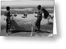 Great Rift Fishermen Greeting Card