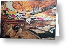 Great Room At Lascaux Greeting Card