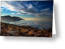 Great Salt Lake Utah Greeting Card