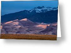Great Sand Dunes  Colorado Greeting Card