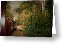 Great Smokey Mountain Railroad Greeting Card