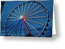 Great Smoky Mountain Wheel Greeting Card