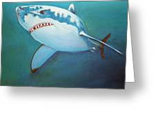 Great White 3 Greeting Card
