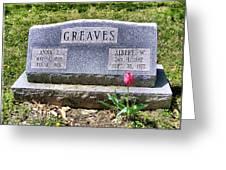 Greaves Greeting Card