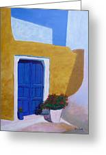Greece Painting  Greeting Card