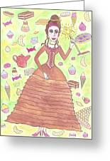 Greedy Fairy Greeting Card